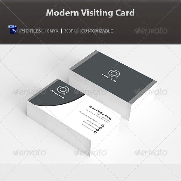 Modern Visiting Card