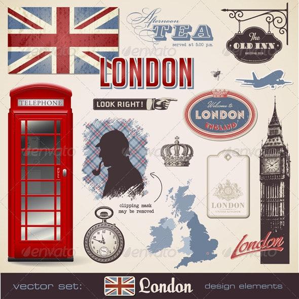 London Design Elements - Travel Conceptual