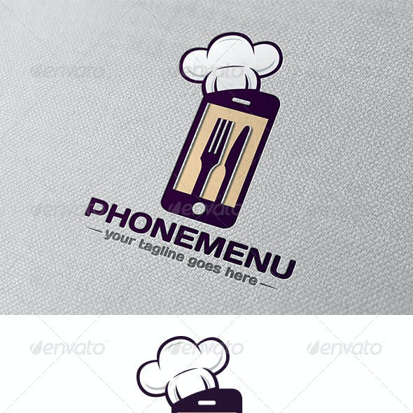 Phone Restaurant App Logo