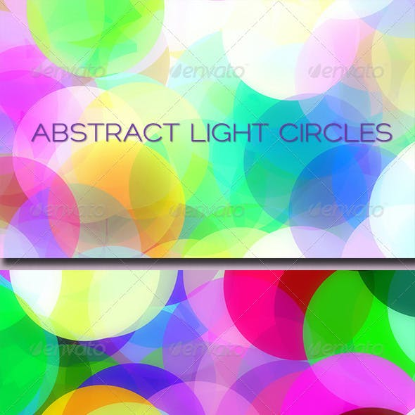 Abstract Light Circles