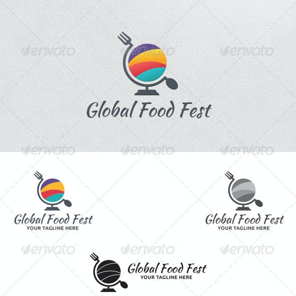 Food Festival - Logo Template