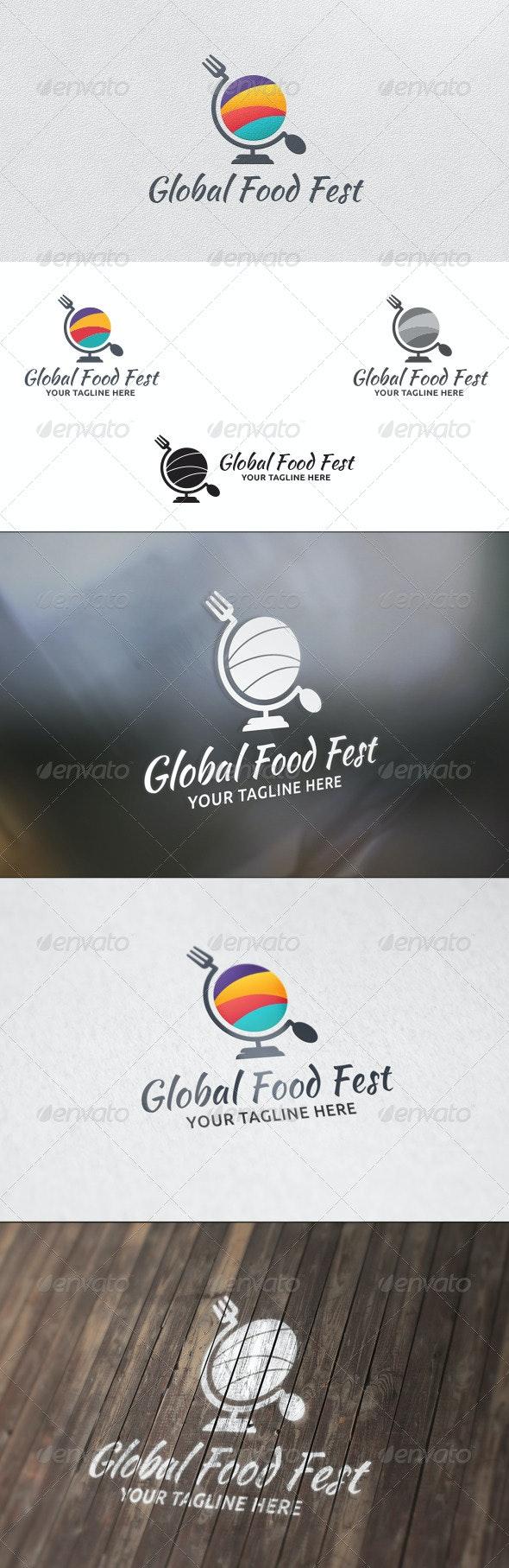Food Festival - Logo Template - Food Logo Templates