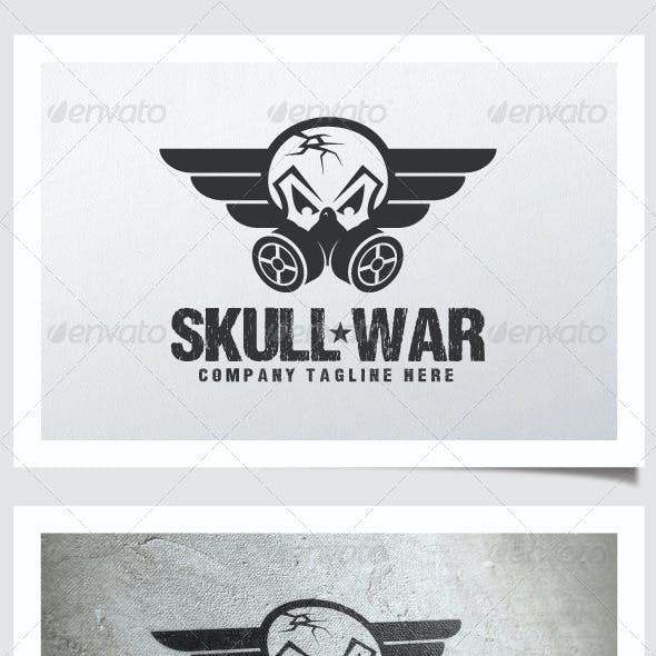 Skull War Logo