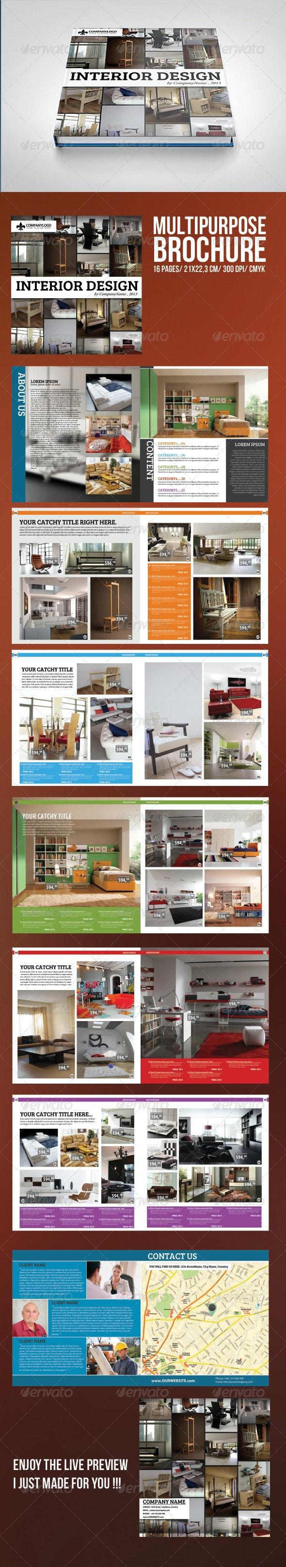 Multipurpose Brochure Template - Print Templates