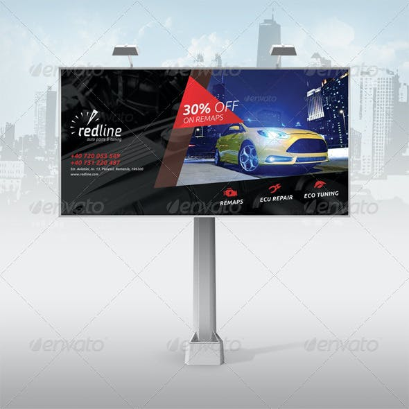 Redline Billboard Ads