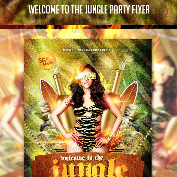 Welcome To The Jungle Flyer