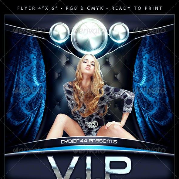 VIP (Flyer Template 4x6)