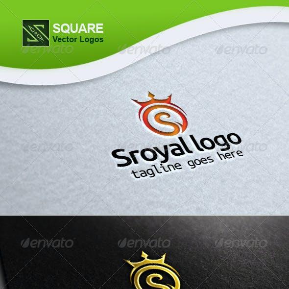 S, Crown Vector Logo Template