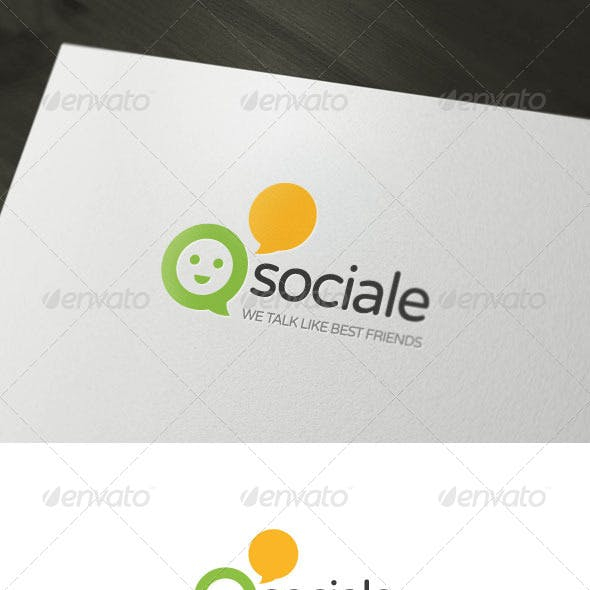 Sociale Logo Template