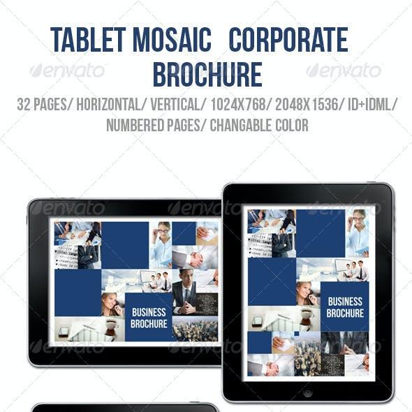 iPad & Tablet Mosaic Corporate Brochure