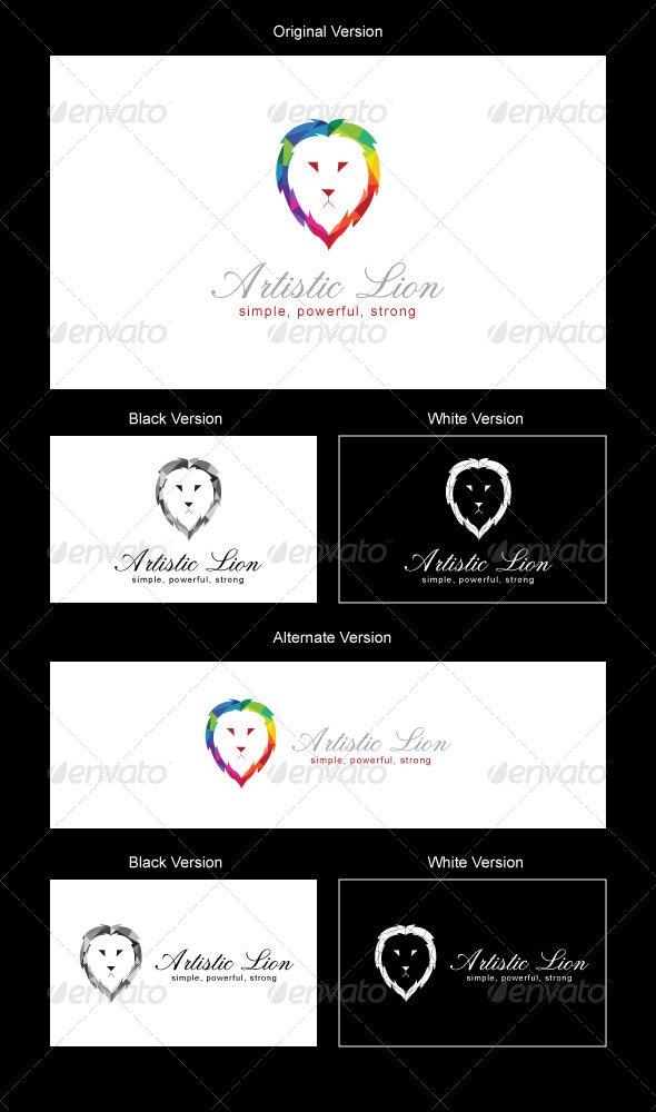 LionArt Logo Design - Animals Logo Templates