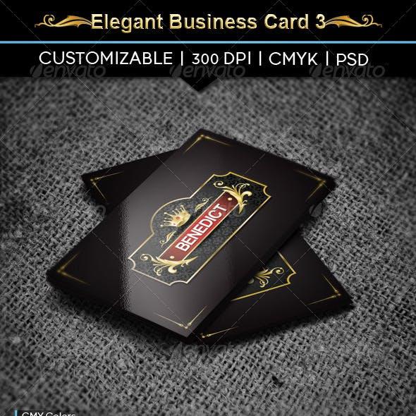 Elegant Business Card 3