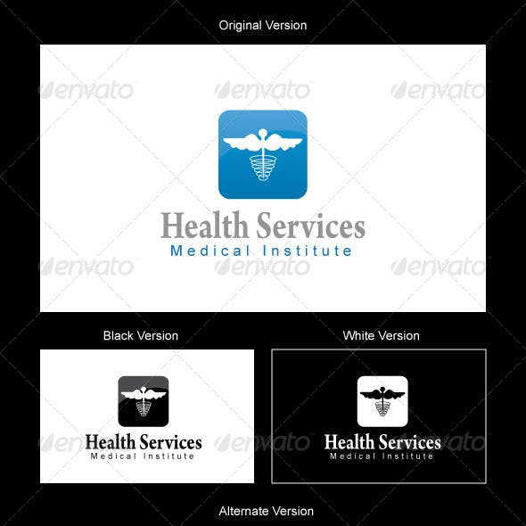 Health Services Logo Design