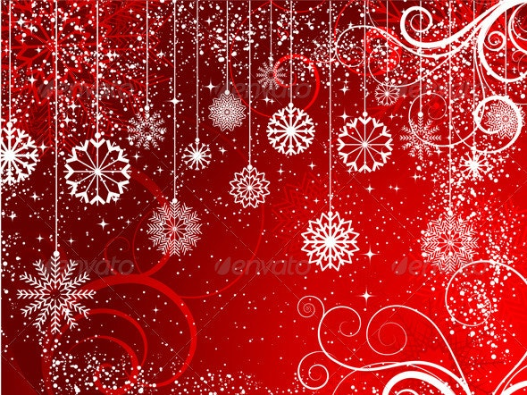 Abstract Christmas background - Christmas Seasons/Holidays