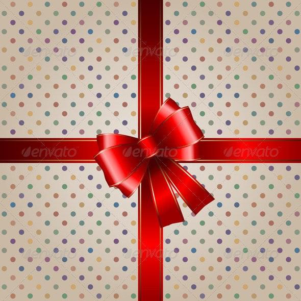 Gift background - Christmas Seasons/Holidays