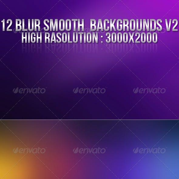 12 Smooth Blur Backgrounds V2