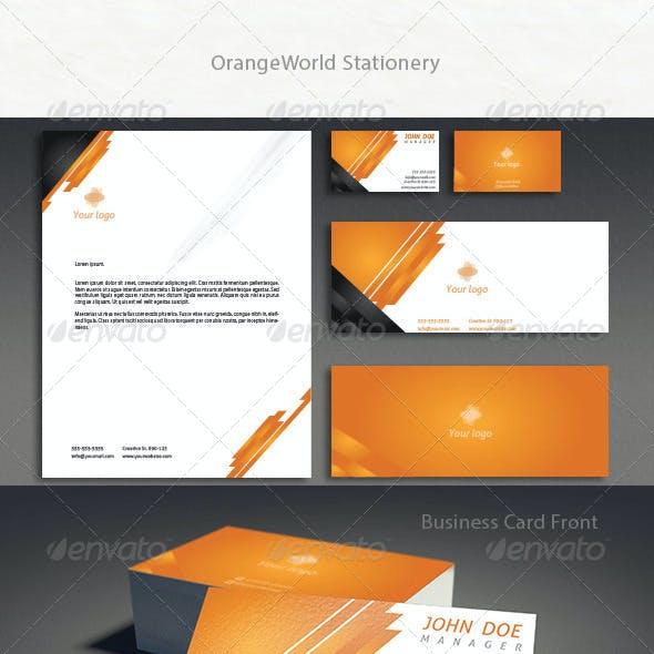OrangeWorld Stationery