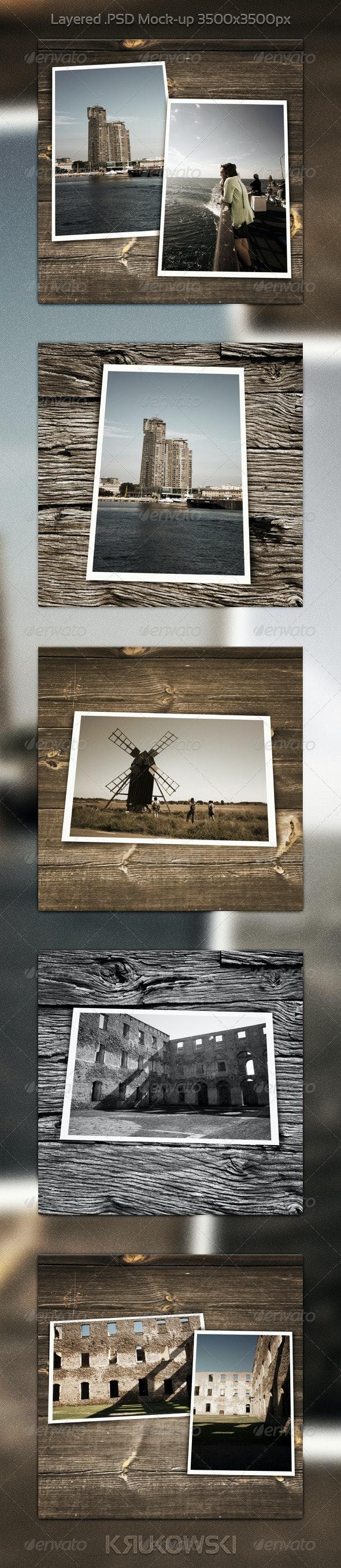 Vintage Photo PSD Template - Miscellaneous Photo Templates