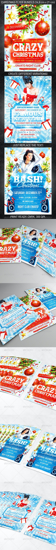 Christmas Celebration Flyer Bundle - Holidays Events
