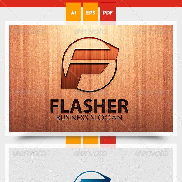 Flasher Logo Template