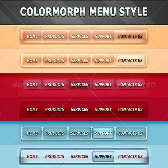 ColorMorph Navigation Menu Styles