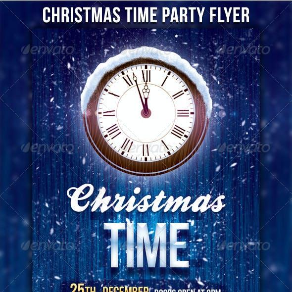 Christmas Time Flyer
