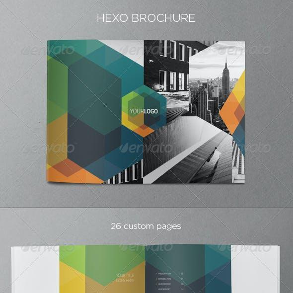 Modern Real Estate Hexo Brochure