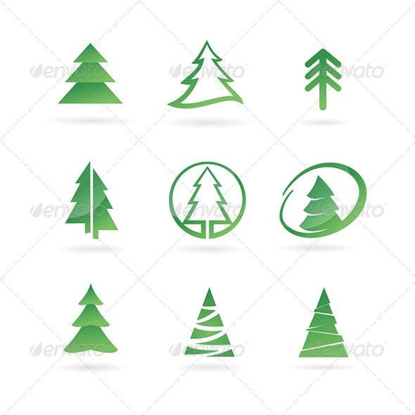 Pine Tree Icons