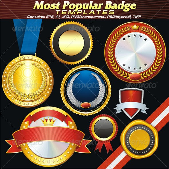 Popular Sale Badges and Labels
