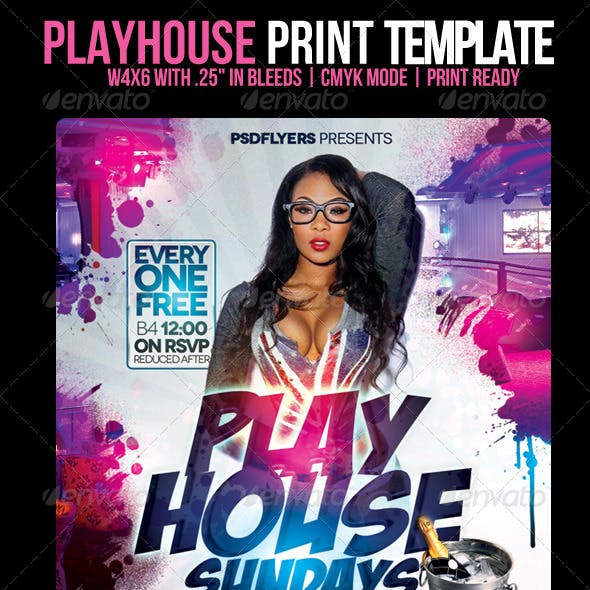 Playhouse Flyer