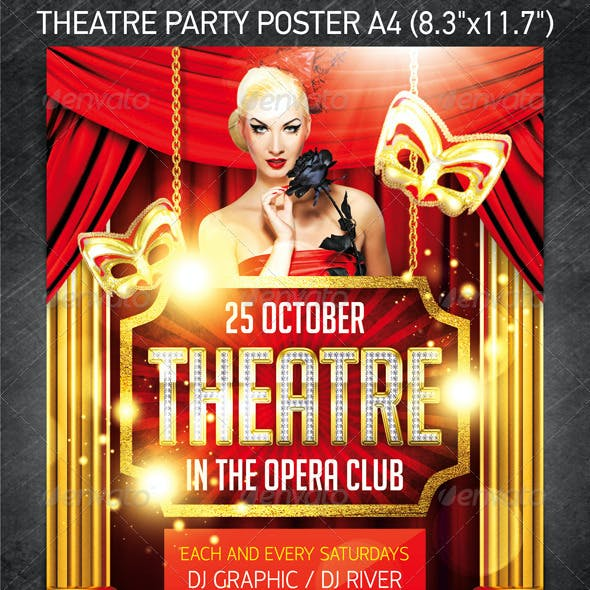 Theatre Party Poster