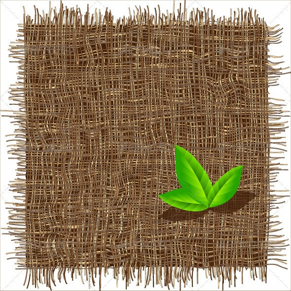 Organic weave pattern. Ecological background. - Backgrounds Decorative