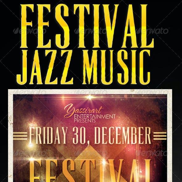 Festival Jazz Flyer Template