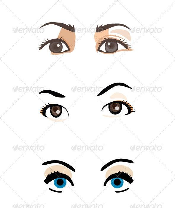 Vector Eyes  - Vectors