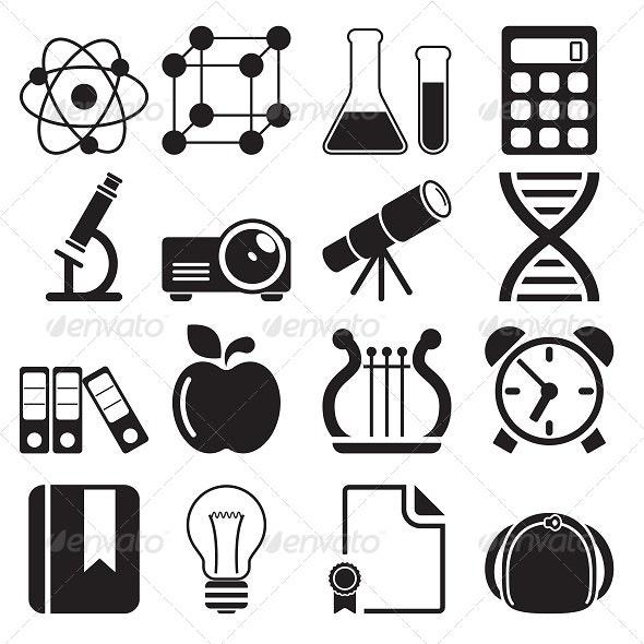 Education Icons Vol 2 - Icons