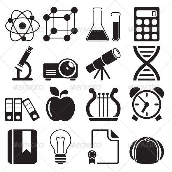 Education Icons Vol 2