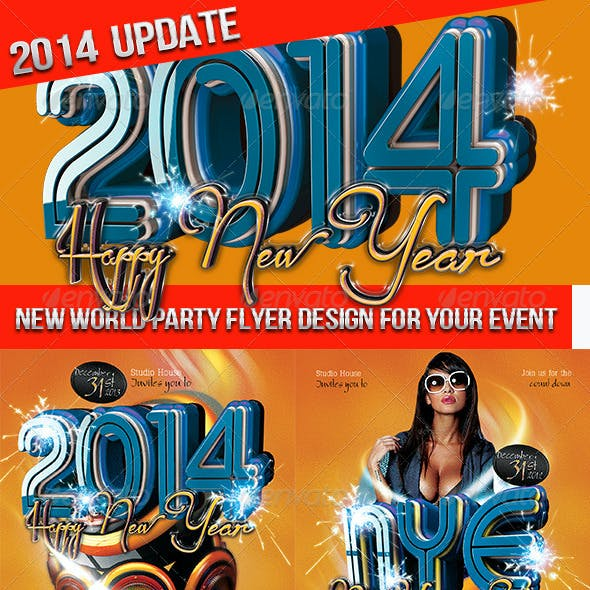 Happy New Year & New Years Eve 2014
