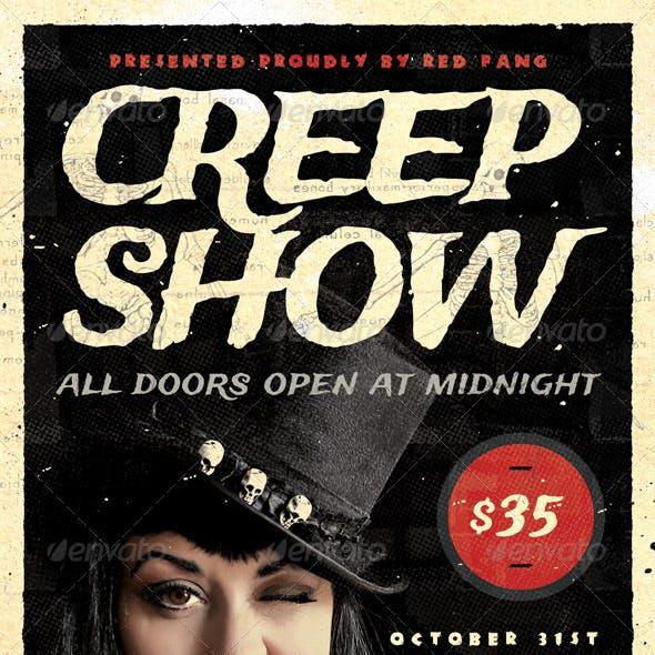 Creep Show - Halloween Flyer Template