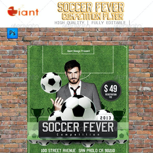 Soccer Fever Competition Flyer