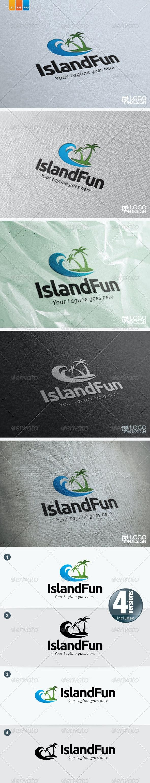 Island Fun - Nature Logo Templates