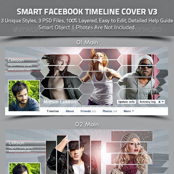 Smart Facebook Timeline Cover V3