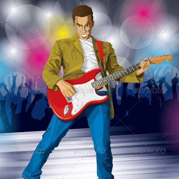 Punk with Guitar