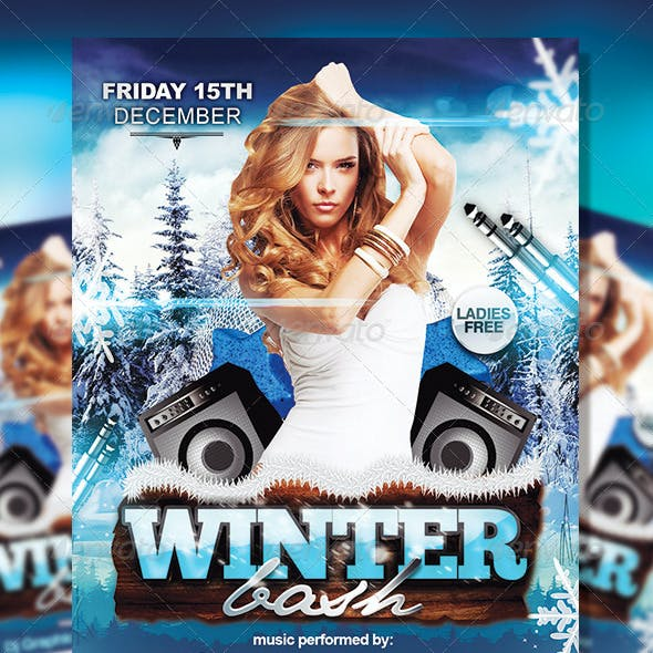 Winter Bash | Flyer Template