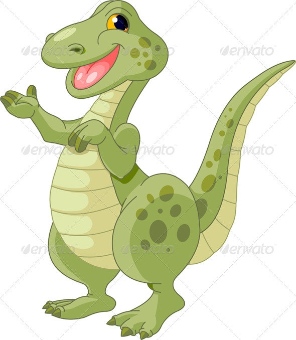 Cute dinosaur - Monsters Characters