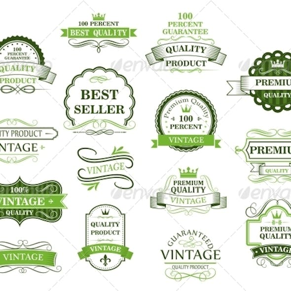 Green Labels and Banners