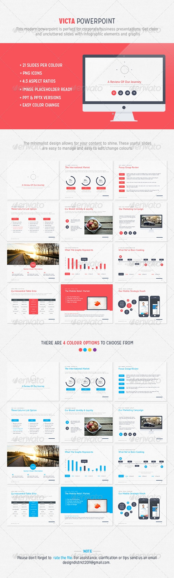 Victa Powerpoint - Business PowerPoint Templates