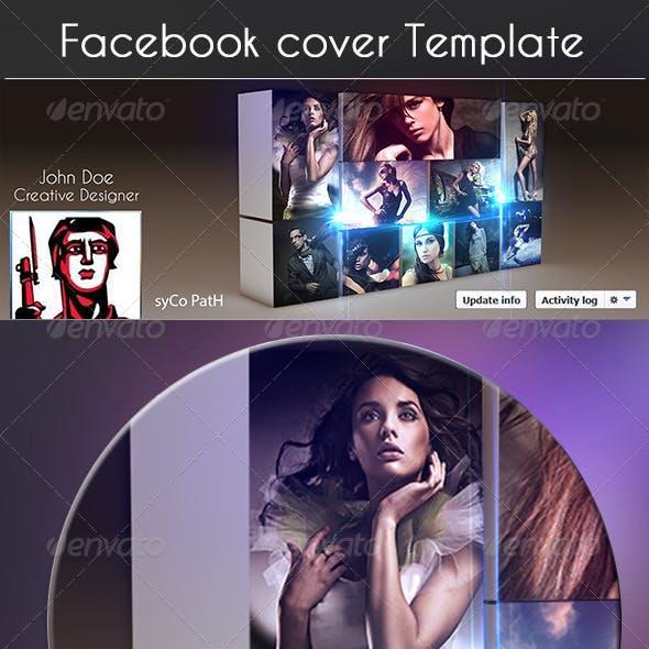 4D Photo Gellary Fb Cover Template