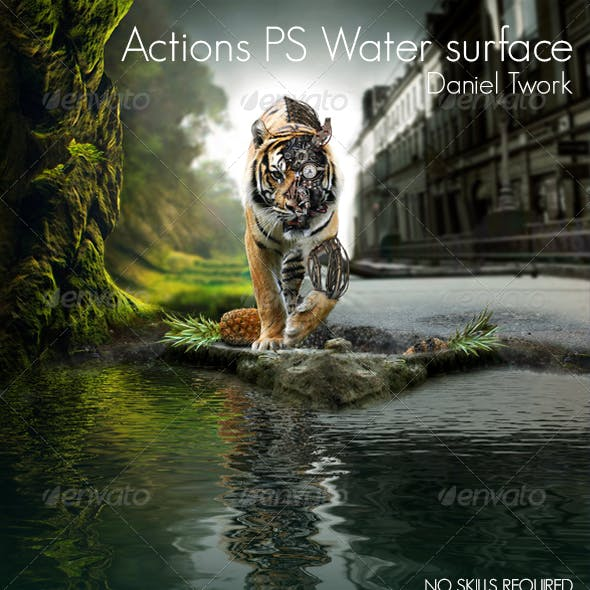 Actions PS Water surface
