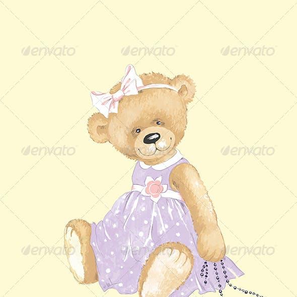 Elegant Teddy Bear.