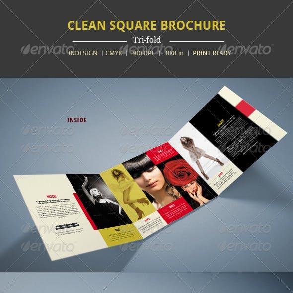 Modern Square Brochure